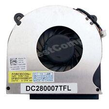 New For Dell Latitude E6410 E6510 Laptop CPU Cooling Fan 04H1RR DC280007TFL