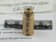 US Copper Red Dot 9MM Laser Bore Sighter /9MM  Laser Sight  Boresighter