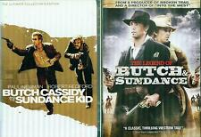 Butch Cassidy & Sundance Kid 1&2: Original Collectors Ed + The Legend- New 3 Dvd