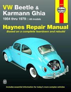 Repair Manuals Literature For 1960 Volkswagen Karmann Ghia For Sale Ebay