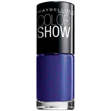 Maybelline New York Color Show Nail Lacquer, Blue Freeze, 0.23 Fluid Ounce