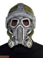 Adults Apocalypse Latex Gas Mask Teens Halloween Fancy Dress Costume Accessory