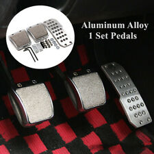Aluminum Alloy Car Foot Pedals Clutch Brake Manual Transmission Footrest Cover