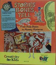 Creativity for Kids Stories Bones Tell From Body Basics Mummy Mysteries NIB