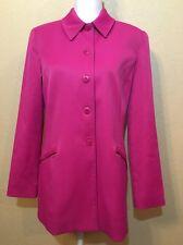 RENFREW Womens Size 8 Medium Mid Length Jacket Excellent Condition Magenta USA