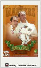 2009-10 Select Cricket Trading Cards Masters Acetate Gem Card MG6 Hayden/Langer