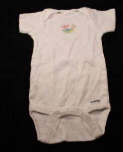White Little Slugger Onesie - 3-6 Months - Gerber