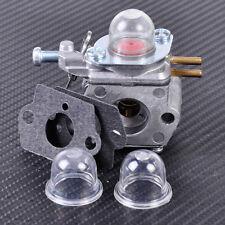 Carburetor + Gasket + Primer Bulb fit for MTD 753-06190 Walbro WT-973 Troy Bilt