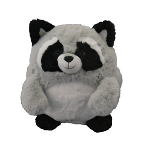 Cozytime Cosy Raccoon Fluffy Faux Fur Luxury Giant Hand Warmer Pillow