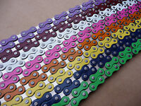 "YBN 1/2"" x 1/8"" Chain BMX Retro Old School Single speed Fixed Bike Cycle YABAN"