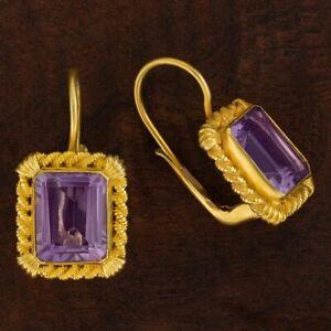 Tyrrhenian Amethyst Earrings: Museum of Jewelry