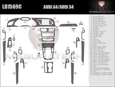 Fits Audi A4 Sedan 2009-2013 With Navigation Large Wood Dash Trim Kit