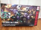NiB Hasbro Transformers Titans Return Trypticon Decepticon Necro & Full-Tilt
