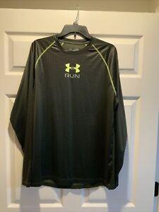 Under Armour Run Long Sleeve Shirt size XL.     Box #6