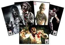 New Large 11 x 17 Shooting Targets Zombie, 25 Variety Pack Splatter Gun Rifle BB