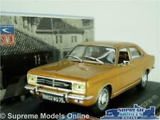 SIMCA CHRYSLER 160 MODEL CAR 1972 1:43 SIZE IXO TALBOT 4 DOOR SALOON GOLD T3