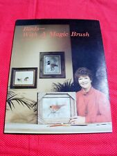"""Sherry Nelson Art Tole Painting Instruction Book """"Birds With A Magic Brush"""""""