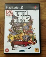 Grand Theft Auto 3 (Including Map And Manual) Sony Playstation 2.Free UK Postage