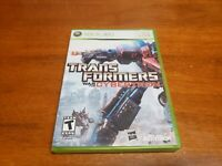 Transformers: War for Cybertron (Microsoft Xbox 360, 2010) CIB Complete TESTED
