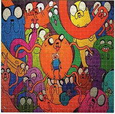 ADVENTURE TIME JAKE & FINN XL BLOTTER ART Psychedelic Perforated Sheet Acid Free