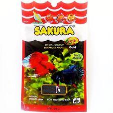 New Sakura Gold 20g Baby Floating Pellet Mosquito Larva Fighting Betta Fish Food