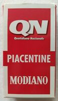 CARTE DA GIOCO SIGILLATE MODIANO PIACENTINE QN ORIGINALI PLAYING CARDS NEW