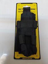 Nitecore NCP30 Durable Multi-Functional Tactical Flashlight Holster (Black)