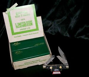 Boker 6066 Knife 1970's Limited Edition Tree Brand Classic W/Packaging & Papers