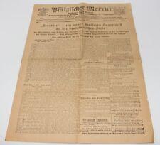 alte Zeitung Zweibrücken, Pfälzischer Merkur, 02.04.1917 #H293