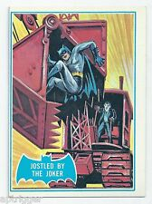 1966 Topps Batman Blue Bat with Bat Cowl Back (30B) Jostled By The Joker