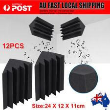 12pc Studio Acoustic Foam Corner Bass Trap Sound Absorption Treatment Proofing P