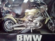 RARE !! James Bond 007 BMW Motorcycle R1200C {GOLD}1:6 Scale Tomorrow Never Dies
