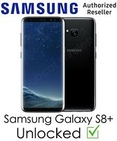 Samsung Galaxy S8 Plus TracFone AT&T T-Mobile Sprint Verizon GSM CDMA Unlocked