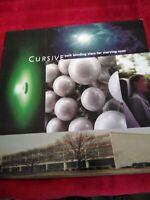 Cursive - Such Blinding Stars For Starving Eyes Vinyl LP ORIGINAL PRESSING Rare