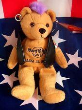HRC Hard Rock Cafe Sharm El Sheikh Punk Bear Mohawk 2010 Purple Hair Herrington