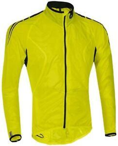 Specialized Deflect Comp Wind cycling Rain Jacket XL pack away Hi-Viz