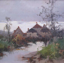 Galien-Laloue Eugene 1854 - 1941 Landscape near Annecy !! painting art french !!