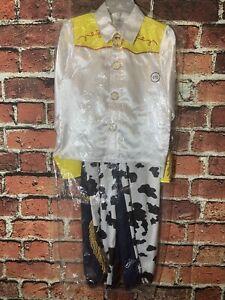 NWT Disney Kid's Toy Story Jessie Cowgirl Costume Size 9/10 Two Piece