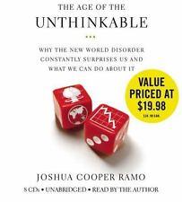 BOOK/AUDIOBOOK CD Joshua Cooper Ramo Economics THE AGE OF THE UNTHINKABLE