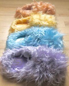 Women's furry fuzzy house slippers Small 5-6 medium 6.5-7.5