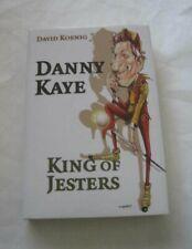 Signed! David Koenig Danny Kaye King of Jesters Hcdj Bonaventure Bio Actor Rare!