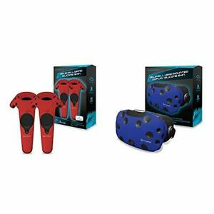 Hyperkin GelShell Controller Silicone Skin for HTC Vive Pro/HTC Vive Red 2-Pa...