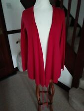 LADIES Wrap Over Red Cardigan By Blooming Marvellous 100% cotton Size S