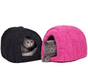 Pets Bed Sofas Cats Dogs Winter Soft Home Comfortable Warm Beds Indoor Outdoor