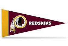 "NEW NFL Washington Redskins Mini Pennant  9""x4"" (22 x 9 1/2 cm) Made in USA"
