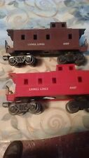 2 Lionel Trains O Scale Model Train Lionel Lines Cabooses No, 6017 & 6057