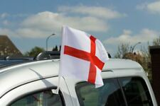 St George England Car Flag Football World Cup 2018  Sport Event Support Country