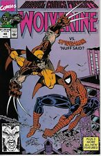 Marvel Comics Presents No.48 / 1990 Wolverine Spider-Man Devil Slayer Wasp Storm