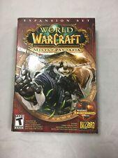 World of Warcraft Mists of Pandaria Expansion Set (Windows XP-Vista-7 &Mac) NEW