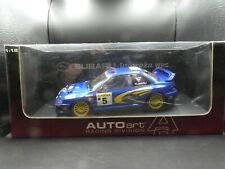 Auto Art 1:18 Richard Burns Subaru Impreza WRC 1999 SIGNED with COA 89992
